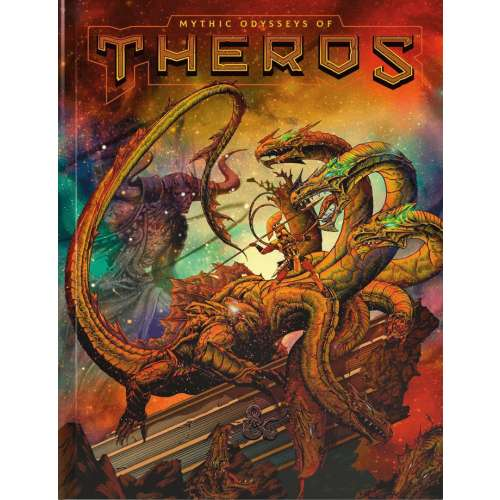 Dungeons & Dragons RPG: Mythic Odysseys of Theros (Alternate Cover)