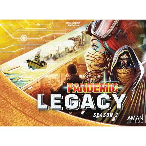 Pandemic Legacy: Season 2 (Yellow Cover) - настолна игра