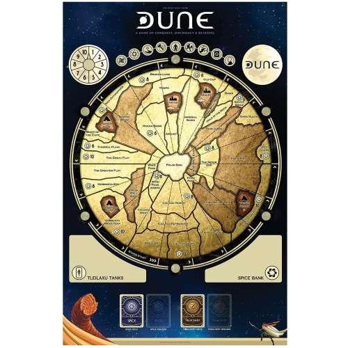 Dune Gamemat + Special Edition Miniatures