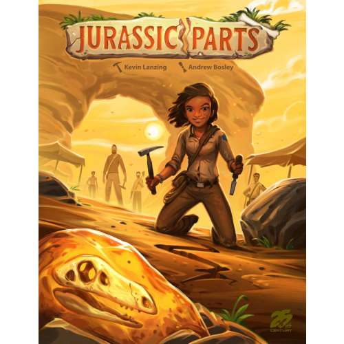 Jurassic Parts - настолна игра