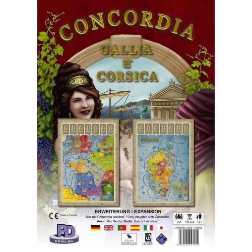 Concordia: Gallia / Corsica - разширение за настолна игра