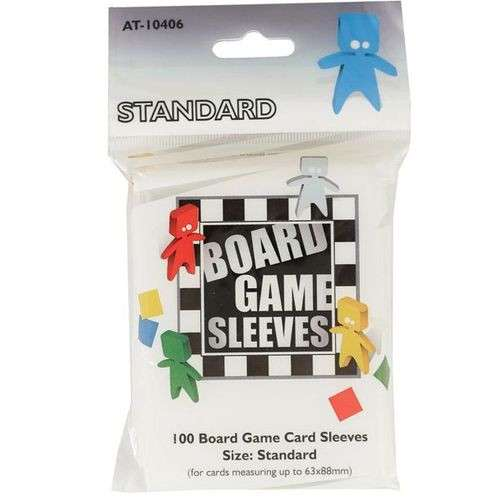 Arcane Tinmen Board Games Sleeves (Clear) - 63 x 88 mm