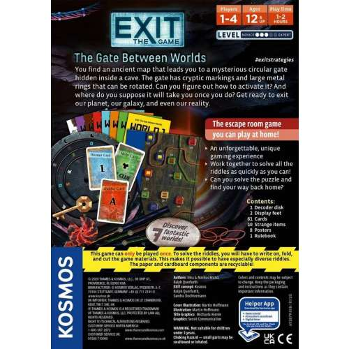 Exit: The Game – The Gate Between Worlds - настолна игра