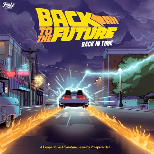 Back to the Future: Back in Time - настолна игра