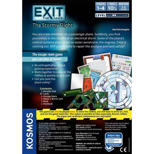 Exit: The Game – The Stormy Flight - настолна игра