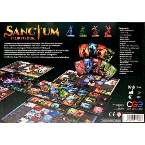 Sanctum - настолна игра
