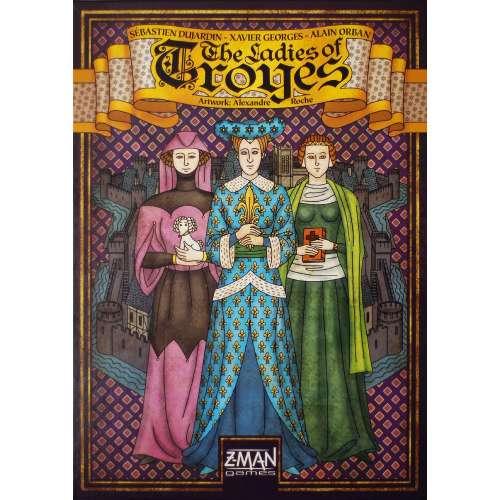 Troyes: The Ladies of Troyes - разширение за настолна игра