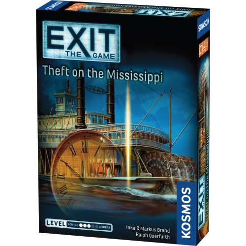 Exit: The Game – Theft on the Mississippi - настолна игра
