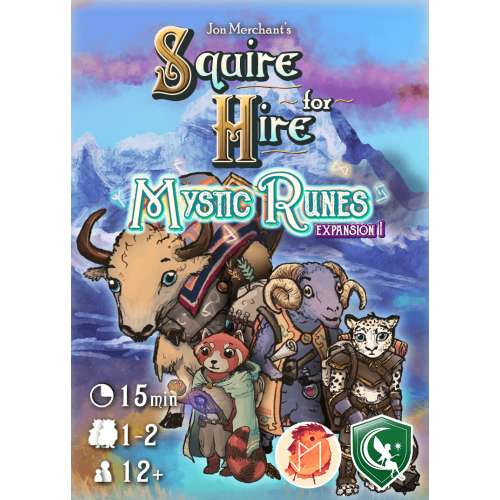 Squire for Hire: Mystic Runes - настолна игра