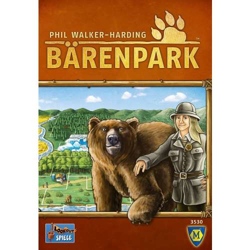 Bärenpark (Bear Park) - настолна игра