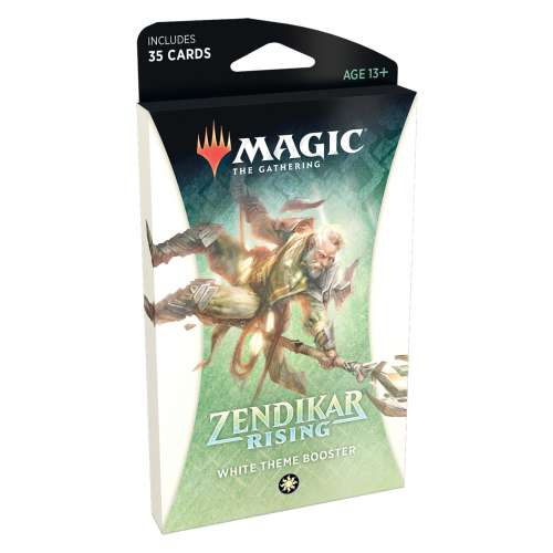 Magic: The Gathering - Zendikar Rising Theme Booster (White)
