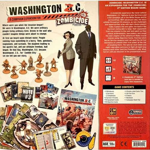 Zombicide (2nd Edition): Washington Z.C. - разширение за настолна игра