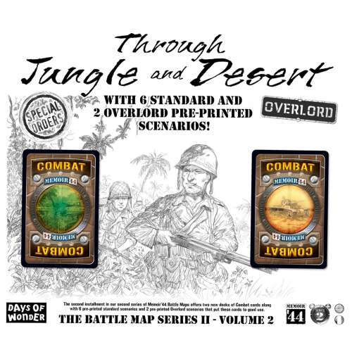 Memoir '44: Through Jungle and Desert - разширение за настолна игра