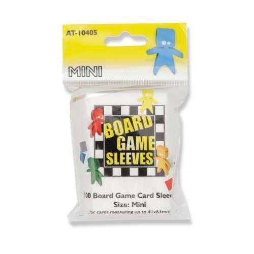 Arcane Tinmen Board Games Sleeves (Clear) - 41 x 63 mm