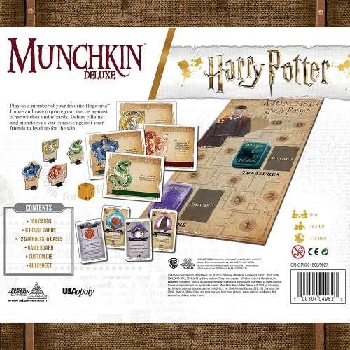 Munchkin Deluxe: Harry Potter - настолна игра