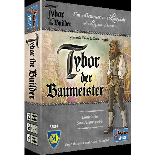 Tybor the Builder - настолна игра