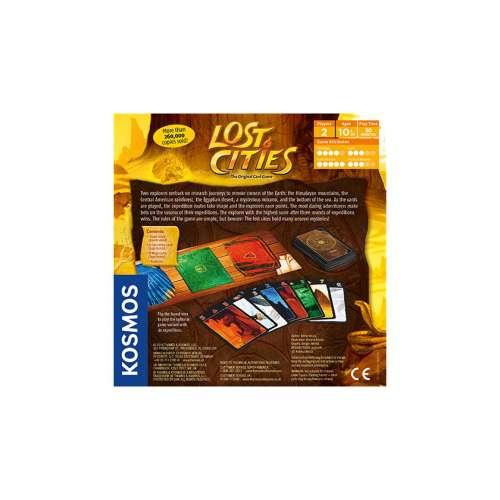 Lost Cities - настолна игра