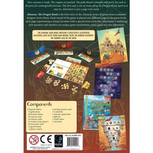 Almanac: The Dragon Road - настолна игра