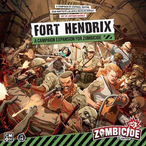 Zombicide (2nd Edition): Fort Hendrix - разширение за настолна игра