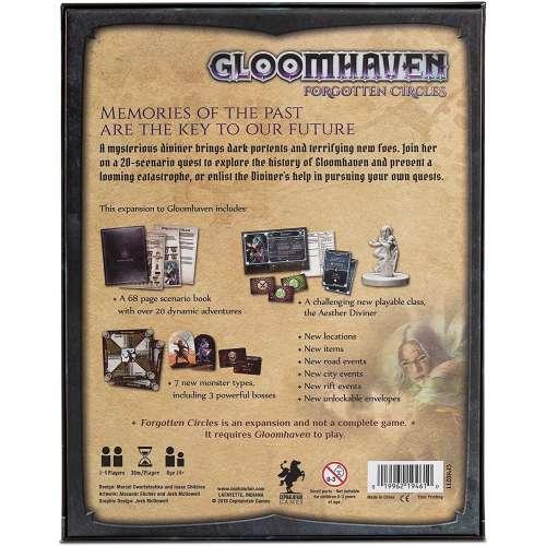 Gloomhaven: Forgotten Circles - разширение за настолна игра