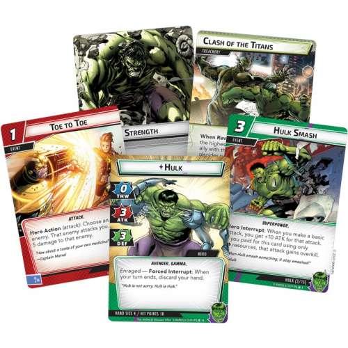 Marvel Champions: The Card Game – Hulk Hero Pack - разширение за настолна игра