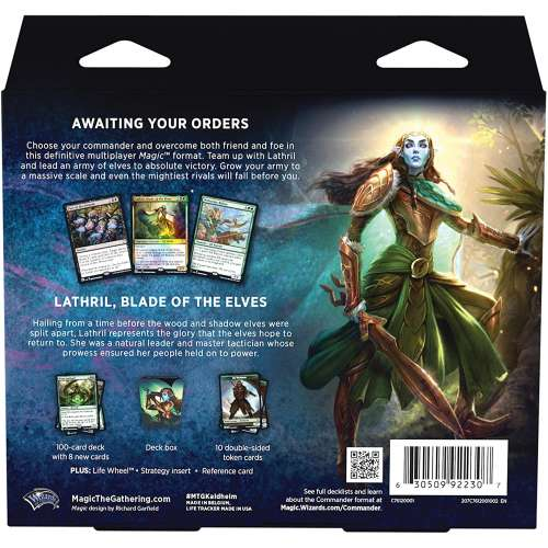 Magic: The Gathering - Kaldheim Commander Deck - Elven Empire