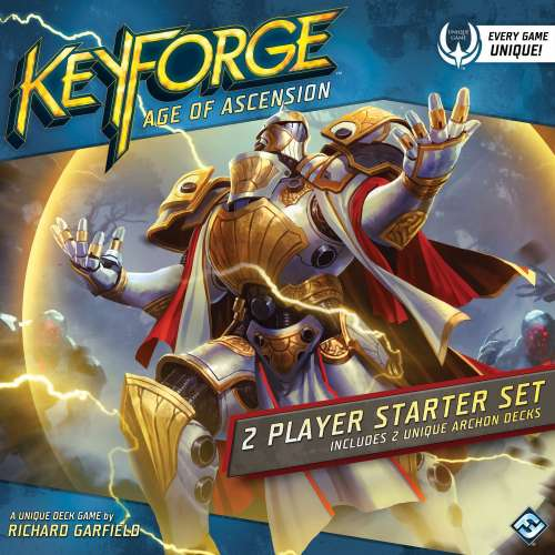 KeyForge: Age of Ascension - 2 Player Starter Set - настолна игра