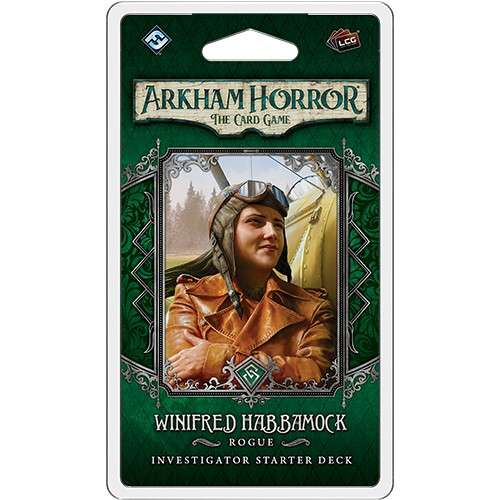 Arkham Horror: The Card Game – Winifred Habbamock: Investigator Starter Deck - разширение за настолна игра