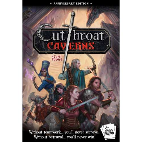Cutthroat Caverns: Anniversary Edition - настолна игра
