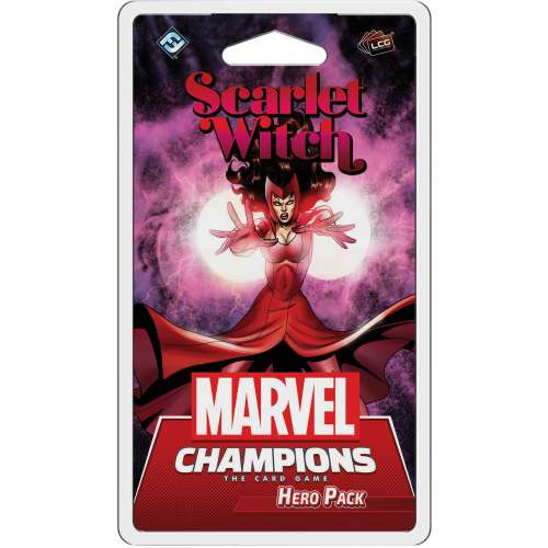 Marvel Champions: The Card Game – Scarlet Witch Hero Pack - разширение за настолна игра