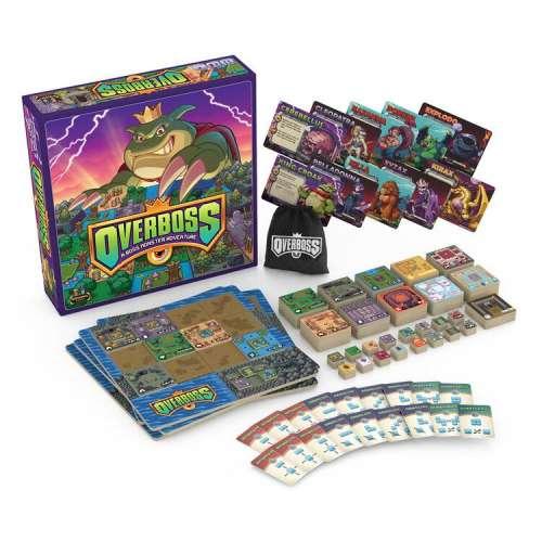 Overboss: A Boss Monster Adventure - настолна игра