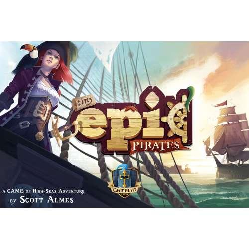 Tiny Epic Pirates - настолна игра