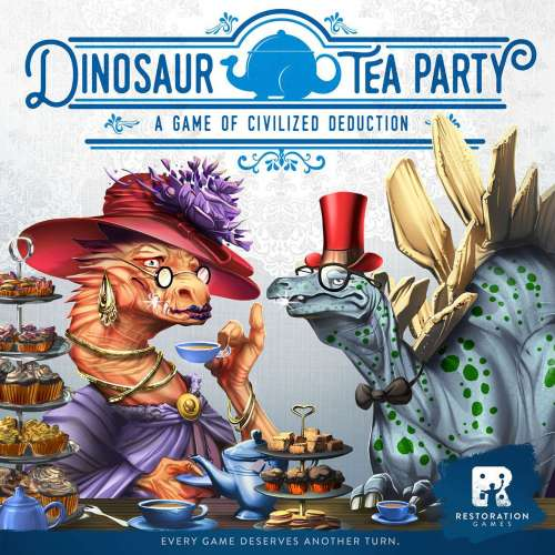 Dinosaur Tea Party - настолна игра