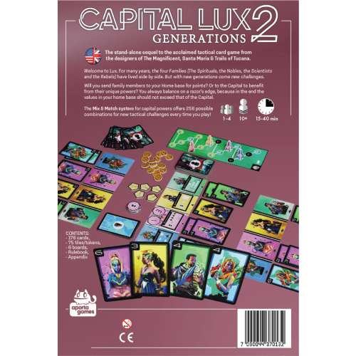 Capital Lux 2: Generations - настолна игра