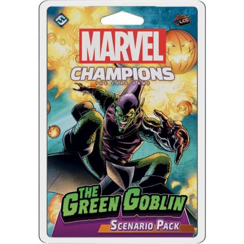 Marvel Champions: The Card Game – The Green Goblin Scenario Pack - разширение за настолна игра