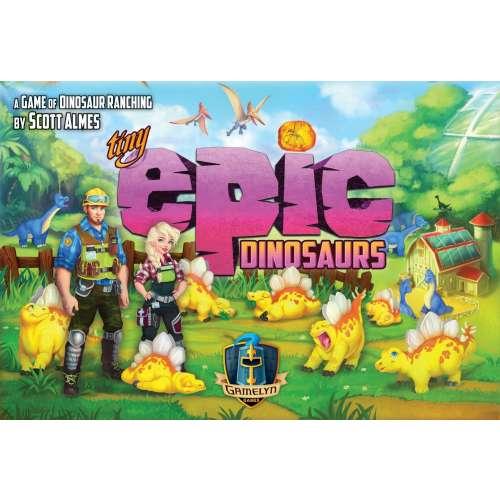 Tiny Epic Dinosaurs - настолна игра