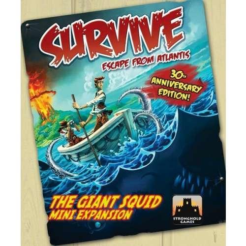 Survive: Escape from Atlantis! The Giant Squid Mini Expansion - разширение за настолна игра