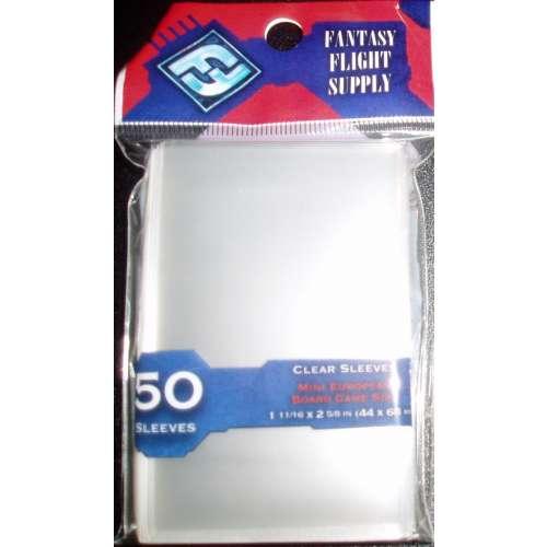 FFG Mini European Board Game Sleeves - 44 mm х 68 mm