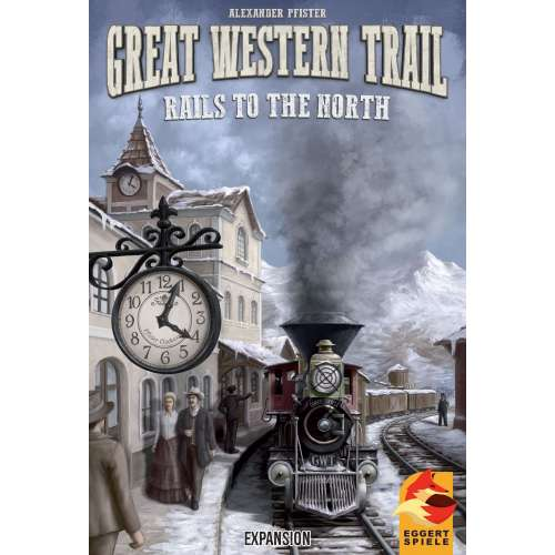 Great Western Trail: Rails to the North - разширение за настолна игра