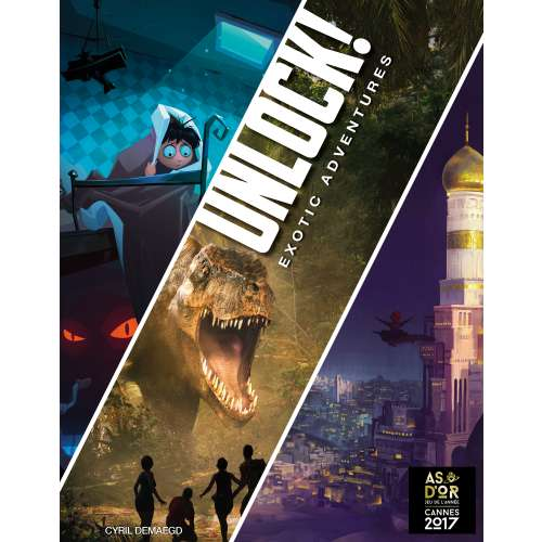 Unlock! Exotic Adventures - настолна игра