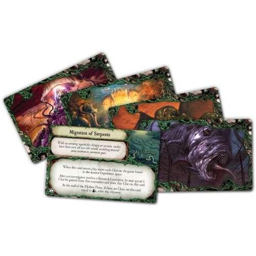 Eldritch Horror: Forsaken Lore - разширение за настолна игра