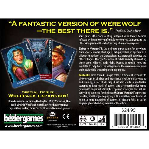 Ultimate Werewolf: Deluxe Edition - настолна игра