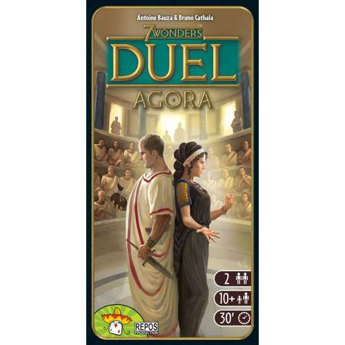 7 Wonders Duel: Agora - разширение за настолна игра