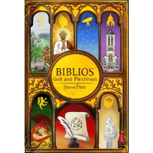Biblios: Quill and Parchment - настолна игра