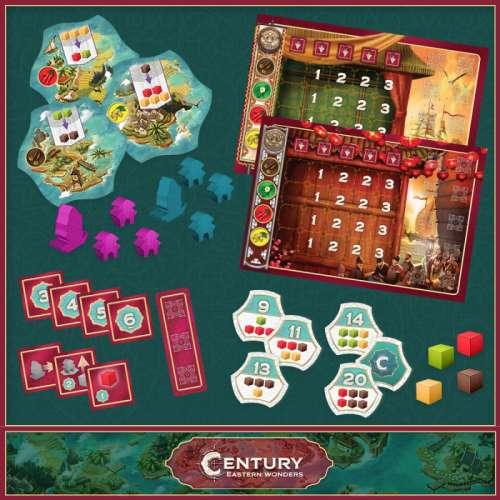 Century: Eastern Wonders - настолна игра