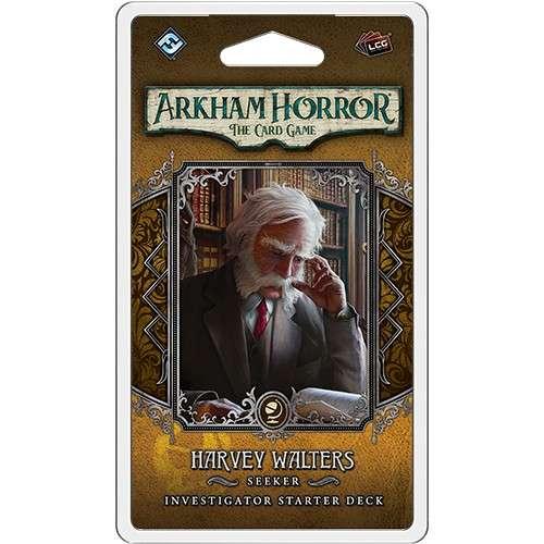 Arkham Horror: The Card Game – Harvey Walters: Investigator Starter Deck - разширение за настолна игра