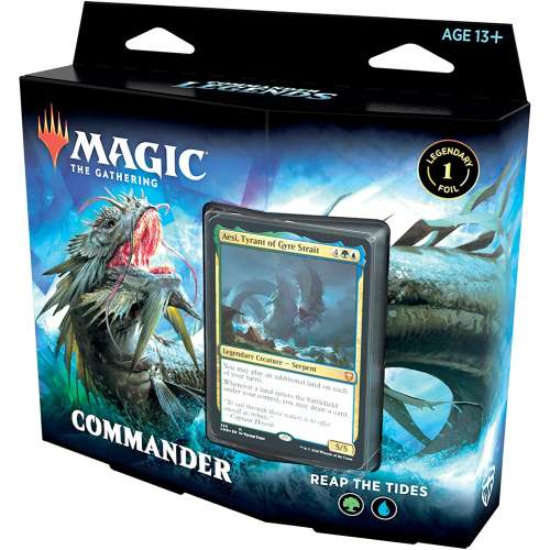 Magic: The Gathering - Commander Legends Commander Deck - Reap the Tides