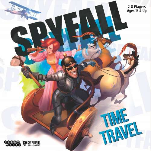 Spyfall: Time Travel - настолна игра