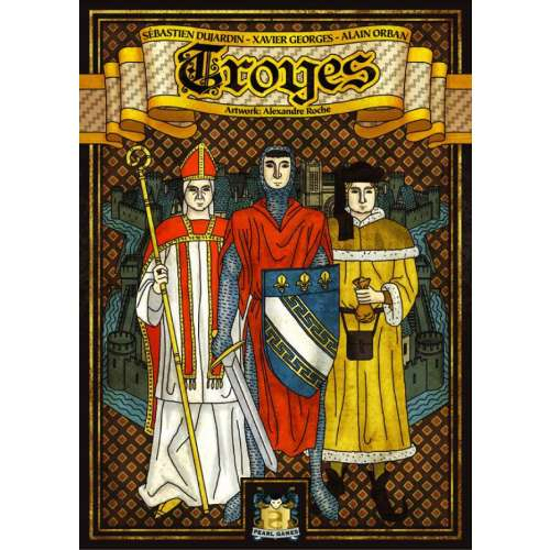Troyes - настолна игра