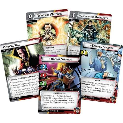 Marvel Champions: The Card Game – Doctor Strange Hero Pack - разширение за настолна игра